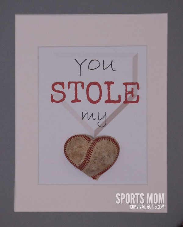 You Stole MY Heart for the Baseball Lover in Your Life