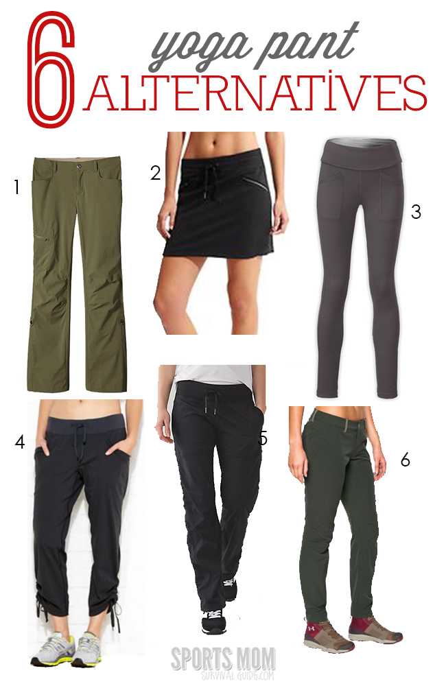 Do you wear your yoga pants far too often? and not just to the gym? Check out these 6 Best Ever Yoga Pant Alternatives! Stay comfortable and stylish.