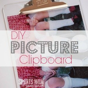 How to Make a Personalized Clipboard with Photo