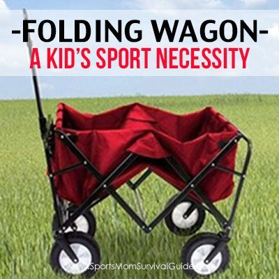 Folding Wagon A Kid's Sport Necessity