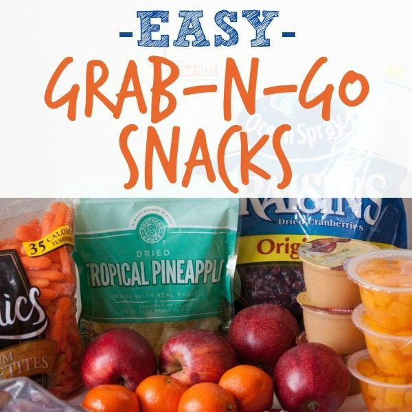 Quick Grab and go Snacks
