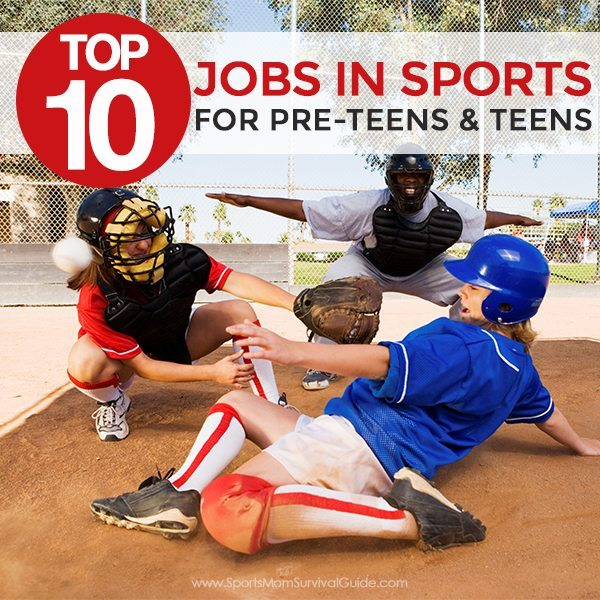 Is your pre-teen or teen looking for a summer job? This is a great list of the Top 10 Jobs for Pre-teens & Teens in Sports.