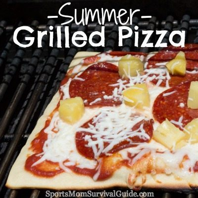Summer Grilled Pizza