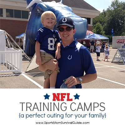 The perfect family day at the NFL Training Camps