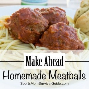 Make Ahead Homemade Meatballs feature