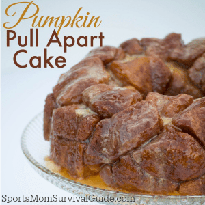 Pumpkin Pull Apart Cake feature image