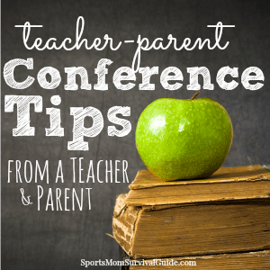 teacher conference tips