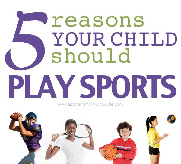 10 reasons why kids should play sports