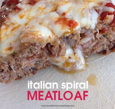 What something more tasty than your mom's meatloaf? Tty this Italian Spiral Meatloaf, a great spin on a classic recipe that will leave your family cheering!
