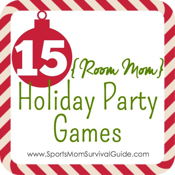 15 Room Mom Holiday Party Games