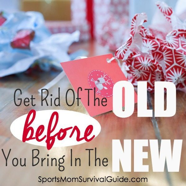 Get Rid of the old before You bring in the new- 2