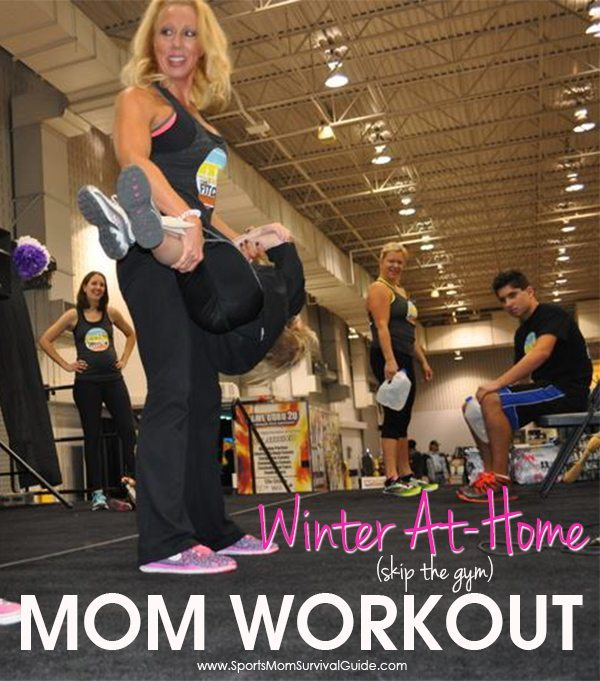 Skip the gym this winter and use this At-Home Mom Workout!