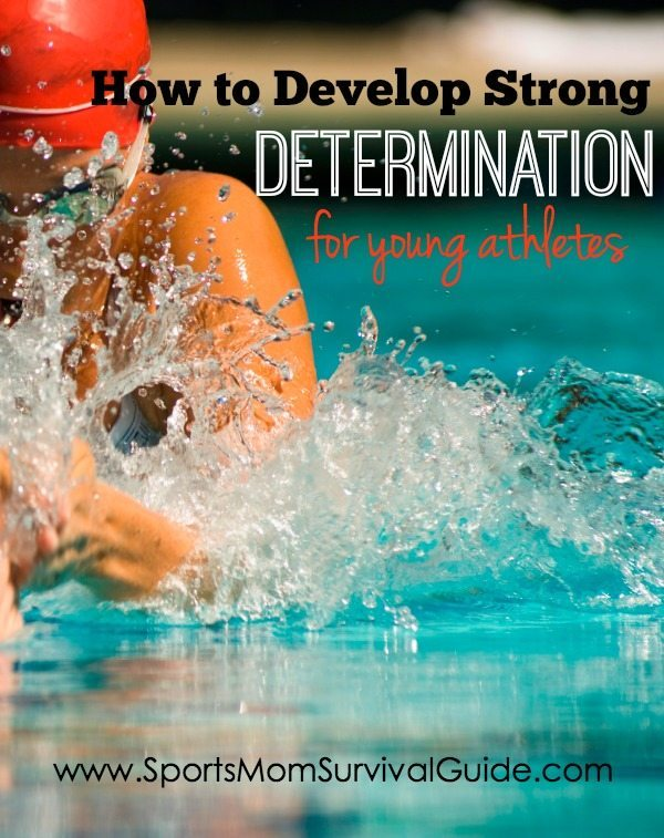Have you ever wondered how to develop strong determination?  Find out the 3 things that have to be in place for a strong determination to blossom and power an athlete to their success.