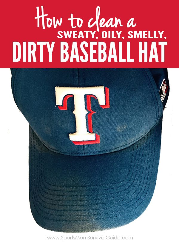 Do your kids or hubby have stinky, smelly, dirty baseball hats? We have the details on how to clean it without losing the shape or shrinking! This really is THE.BEST.WAY to clean your hats!