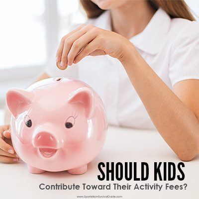 Do you write check after check to pay for your kids activities? Find out why your kids help contribute toward their activity fees.