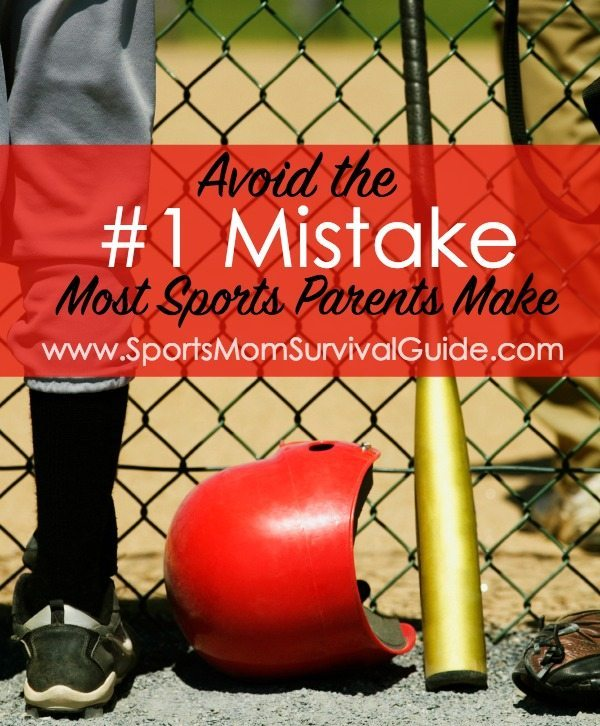 Don't make the #1 mistake most sports parents make!  See what it is and find out how to avoid it!!