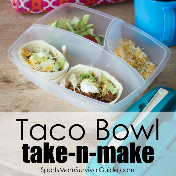 Taco Bowl Take-N-Make Lunch-feature