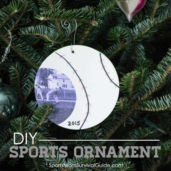 DIY Sports Ornament