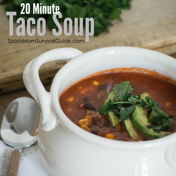 20 Minute Taco Soup-feature copy