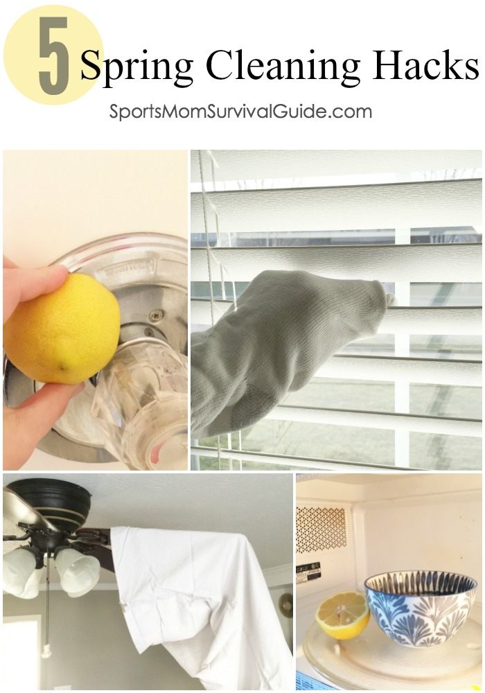 how to spring clean your house quickly