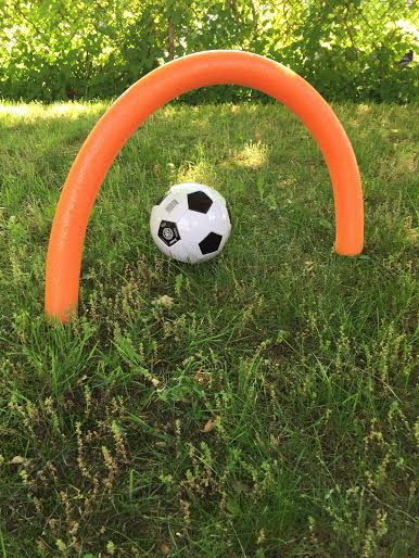 Diy Soccer Camp Using Pool Noodles Sports