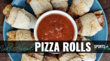 Make Ahead Pizza Rolls