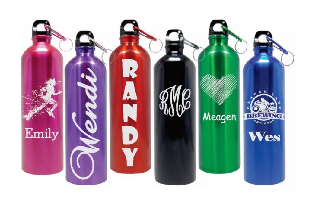 Personalized 25oz Stainless Steel Water Bottle
