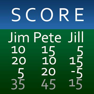 scorekeeper app