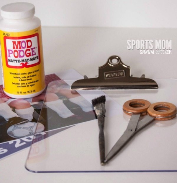 How to Make a DIY  Personalized Clipboard with Photo