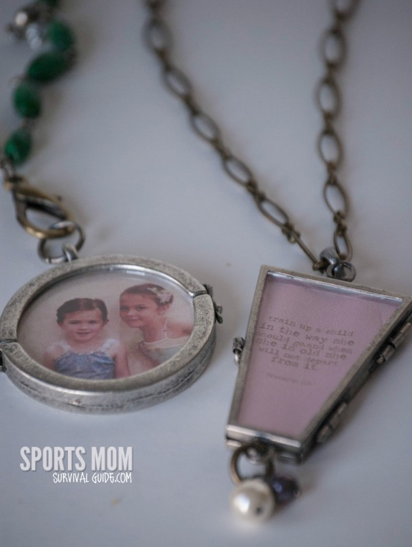 Find out how to make your own personalized necklace charms. Perfect for changing with every sport season, making for a fundraiser or giving as a gift!