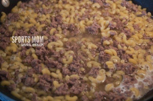 20 Minute Hamburger Macaroni