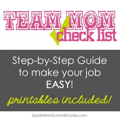 Did you volunteer for the role of Team Mom? Use this Sports Team-Mom Duty Checklist to guide you through your kid's sports season.