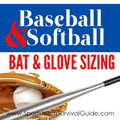 What size bat or glove should your baseball or softball player use? Our Sizing Chart shows you How to Choose the Right Size Baseball & Softball Equipment.