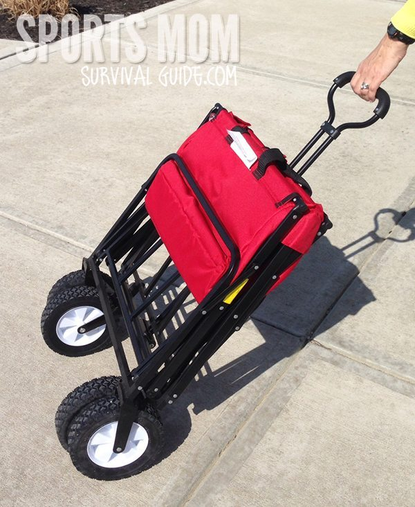 Folding Wagon is a perfect solution for holding all sports equipment