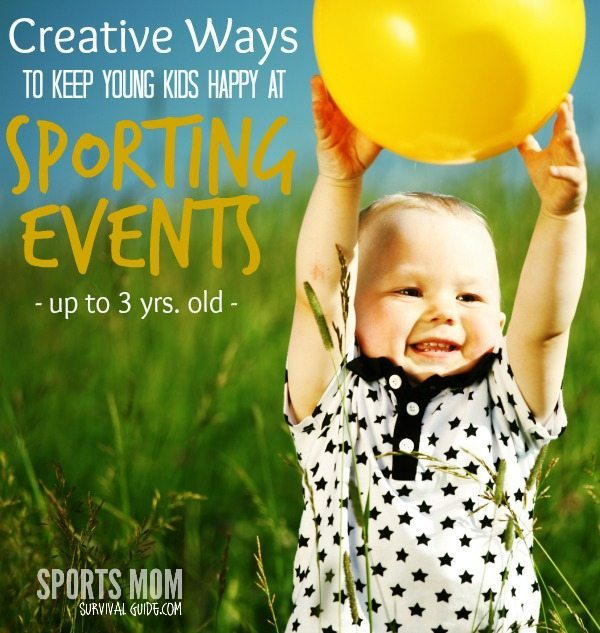 Find some creative activities for kids at sports events! These ideas are perfect for kids ages 1-3 and will hopefully keep them happy while you watch the game!