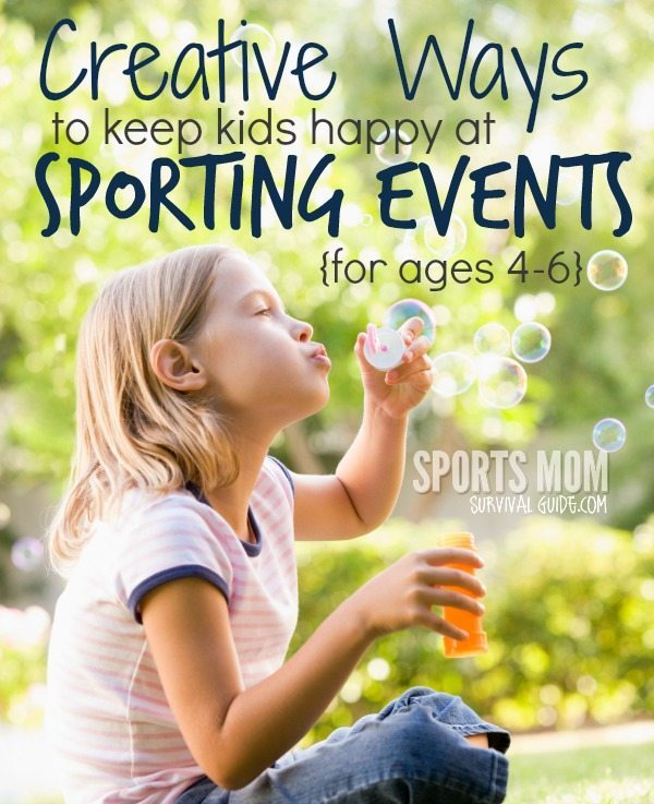 Find 7 Creative Activities for Kids at Sports Events for ages 4-6!!