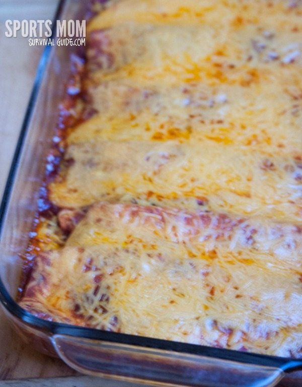 Make Ahead Chicken Enchilada