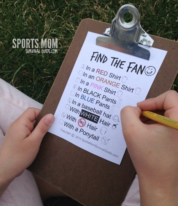 Find the FAN free printable