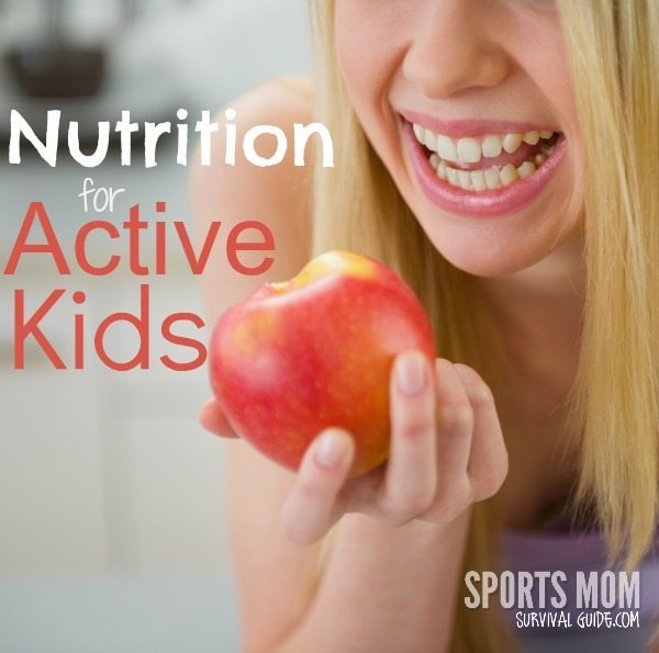 Find some great tips on nutrition for active kids! What they should eat and when.