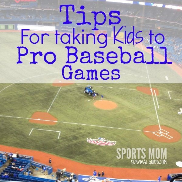 Get some great tips for taking kids to professional baseball games.