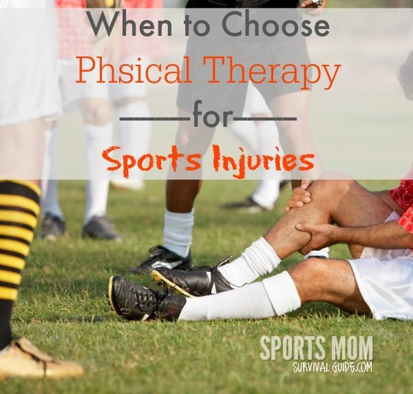 See when it's most beneficial to choose physical therapy for sports injuries!