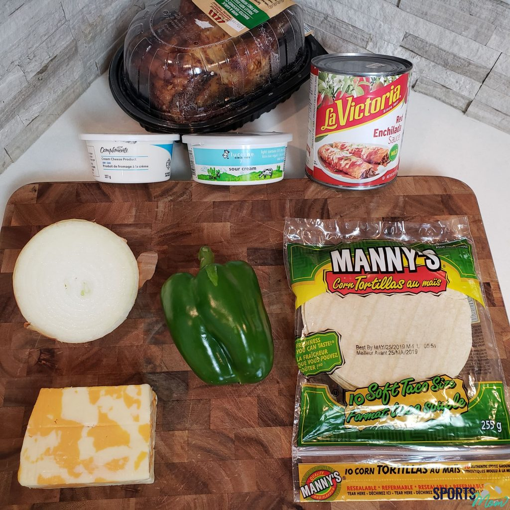 Ingredients to Make Chicken Enchiladas