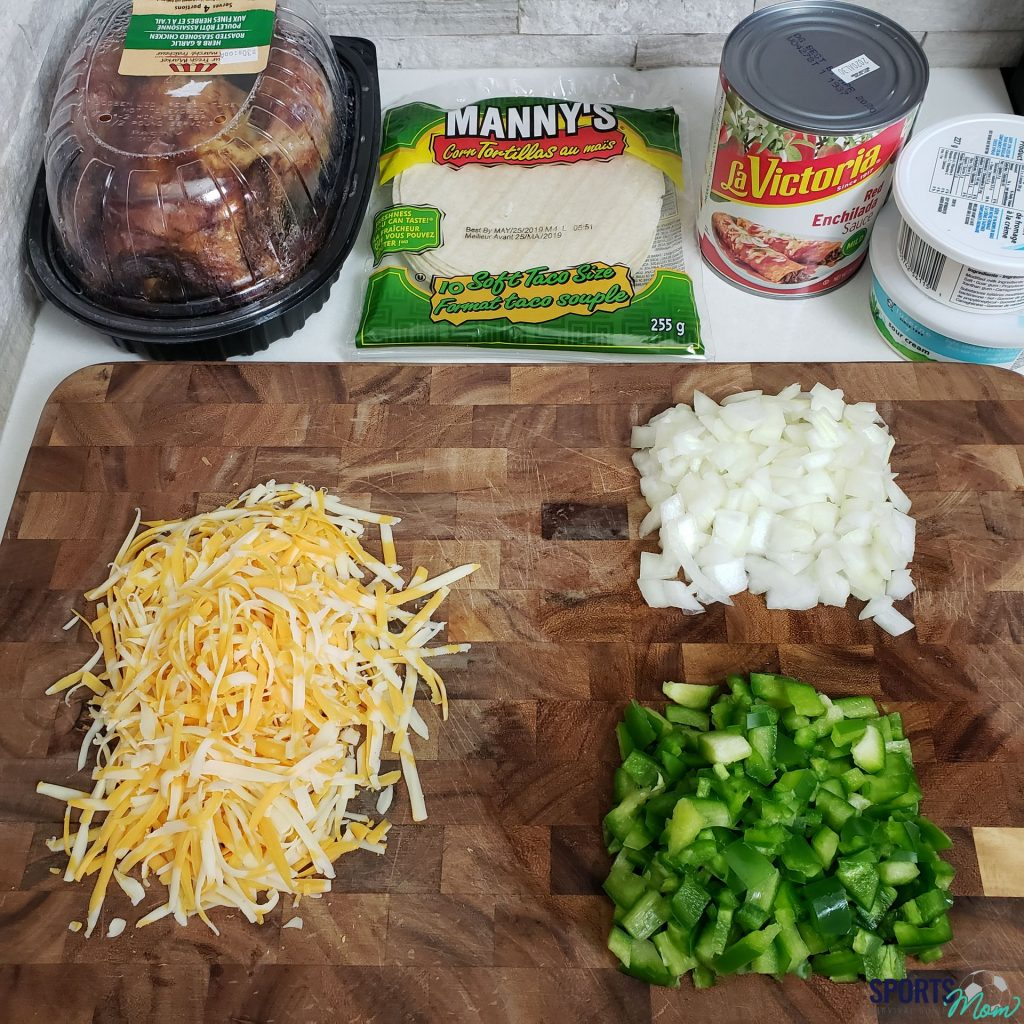 Prep Vegetables & Cheese