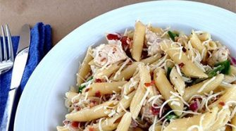 Easy Summer Chicken Pasta Salad