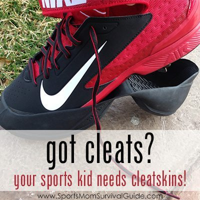 Tired of dirt, mud and grime from your kids cleats? Your sports kids need Cleatskins to protect their cleats, keep your car clean and move easily to their games.