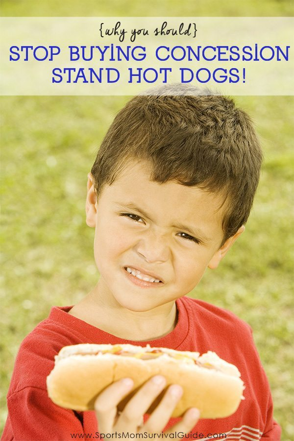Going broke at the concession stand? Here's why you should Stop Buying Concession Stand Hot Dogs!