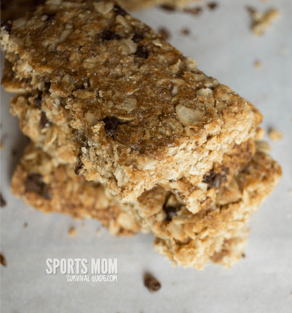 Delicious Homemade Granola Bars that can be customized to fit your tastes!