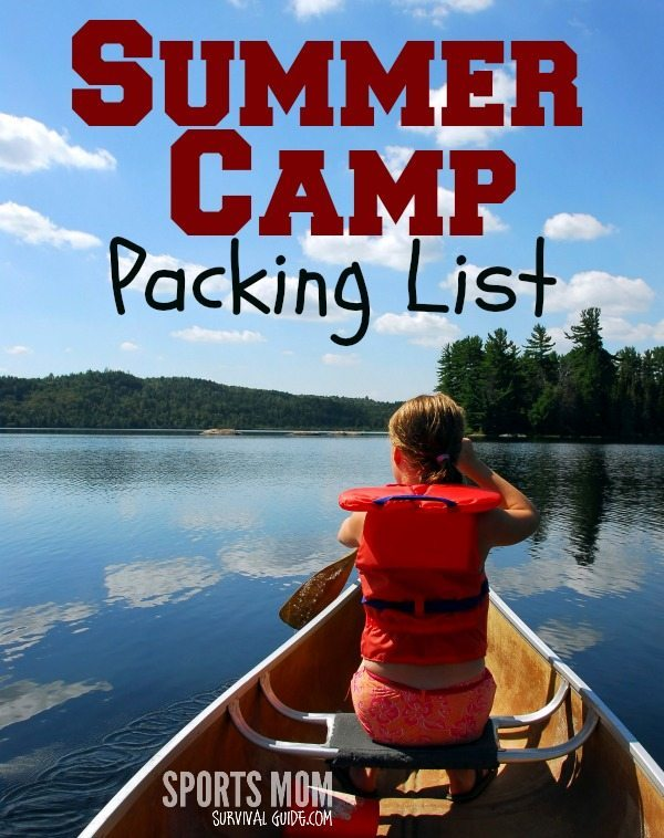 Find some great tips for getting your child ready for summer camp, complete with FREE camp packing list printable!