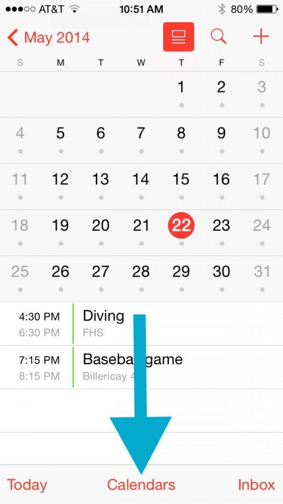 free calendar sharing app