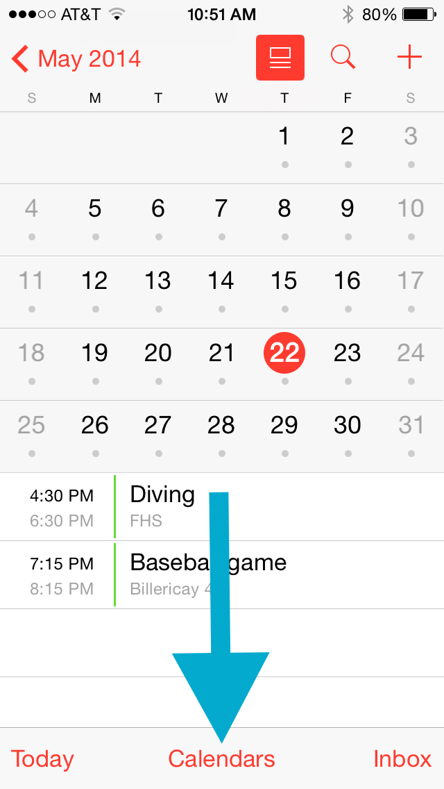 Organized Life With Calendar Sharing Sportsmomsurvivalguide Com